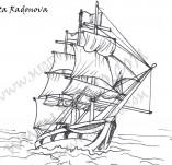 Дизайнерски печати и надписи за картички-Морски