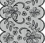 Дизайнерски печати и надписи за картички-Печати на дантели