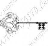 Дизайнерски печати и надписи за картички-Ключове
