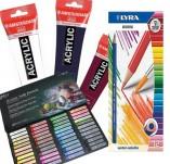 Акрилни бои Пастели и Акварелни моливи
