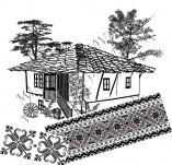 Дизайнерски печати и надписи за картички-Български мотиви