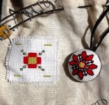 Jewelry-Hand embroidered necklaces