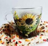 Рисувани и облечени чаши-Ръчно рисувани стъклени и порцеланови чаши