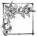 Дизайнерски печати устойчиви на мастила-Печати Нова година устойчив полимер