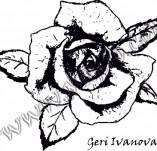 Дизайнерски печати и надписи за картички-Цветя