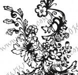 Дизайнерски печати и надписи за картички-Флорални елементи