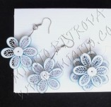 Quilling jewelry-Earrings and necklaces