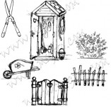 Design stamps and inscriptions-do it yourself picture