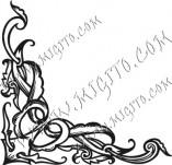 Дизайнерски печати и надписи за картички-Ъгли