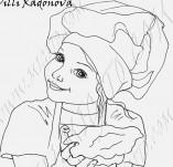 20/1030/Дизайнерски печати и надписи за картички-Деца-Мамина отмяна