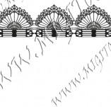 115/1035/Дизайнерски печати и надписи за картички-Печати на дантели-Печат на дантела 2