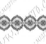 115/1036/Дизайнерски печати и надписи за картички-Печати на дантели-Печат на дантела 3