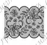 115/1037/Дизайнерски печати и надписи за картички-Печати на дантели-Печат на дантела 4