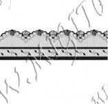 115/1040/Дизайнерски печати и надписи за картички-Печати на дантели-Печат на дантела 7
