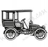 116/1053/Дизайнерски печати и надписи за картички-Ретро превозни средства-Ретро кола 4