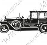 116/1056/Дизайнерски печати и надписи за картички-Ретро превозни средства-Ретро кола 7
