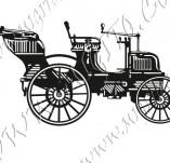 116/1057/Дизайнерски печати и надписи за картички-Ретро превозни средства-Ретро кола 8