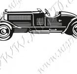 116/1058/Дизайнерски печати и надписи за картички-Ретро превозни средства-Ретро кола 9