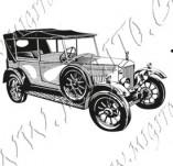 116/1059/Дизайнерски печати и надписи за картички-Ретро превозни средства-Ретро кола 10