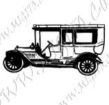 116/1060/Дизайнерски печати и надписи за картички-Ретро превозни средства-Ретро кола 11