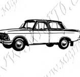 116/1061/Дизайнерски печати и надписи за картички-Ретро превозни средства-Ретро кола 12