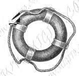 101/1082/Дизайнерски печати и надписи за картички-Морски-Пояс
