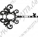 117/1107/Дизайнерски печати и надписи за картички-Ключове-Ключ 2