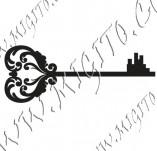 117/1108/Дизайнерски печати и надписи за картички-Ключове-Ключ 3