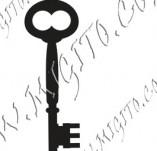 117/1113/Дизайнерски печати и надписи за картички-Ключове-Ключ 8