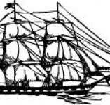 101/1144/Дизайнерски печати и надписи за картички-Морски-Кораб 7