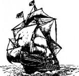 101/1146/Дизайнерски печати и надписи за картички-Морски-Кораб 10