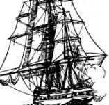101/1147/Дизайнерски печати и надписи за картички-Морски-Кораб 11