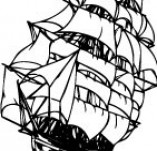 101/1149/Дизайнерски печати и надписи за картички-Морски-Кораб 13