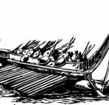 101/1155/Дизайнерски печати и надписи за картички-Морски-Кораб 19
