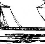 101/1156/Дизайнерски печати и надписи за картички-Морски-Кораб 20