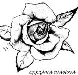 23/116/Дизайнерски печати и надписи за картички-Цветя-Печат на роза 3