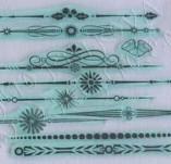 25/1181/Дизайнерски печати и надписи за картички-Нова Година-Новогодишни мотиви