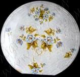 90/1186/Декупаж-Чинии-Чиния с дребни сини цветя