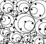 75/1220/Дизайнерски печати и надписи за картички-Фонови печати-Кръгове