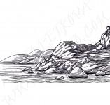 91/1241/Дизайнерски печати и надписи за картички-Направи си картина-Печат на камъни 2