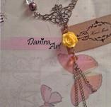 137/1322/Бижута-Колиета - ръчно изработени-Колие - Royal Yellow Necklace