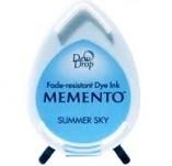 57/1424/Mастила, почистващи средства-Мементо-MEMENTO DEW DROP Тампон с ярък отпечатък SUMMER SKY