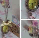 137/1450/Бижута-Колиета - ръчно изработени-Yellow Vintage Necklace