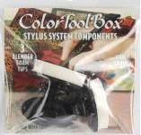 149/1530/Инструменти-Инструменти за нанасяне на мастило и оцветяване-STYLUS TIPS OVAL WHITE