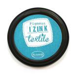151/1567/Mастила, почистващи средства-Мастила за текстил-IZINK TEXTILE Made in France Пигментен тампон за отпечатване върху текстил  СВ. СИН