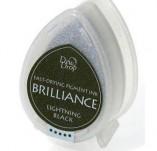 144/1610/Mастила, почистващи средства-Пигментни мастила-BRILLIANCE пигментни тампони  Lightning Black