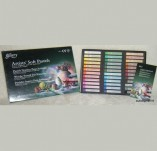 158/1668/Акрилни бои Пастели и Акварелни моливи -GALLERY Artists SOFT Pastels -GALLERY Artists SOFT Pastels Сухи пастели 36 цв