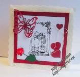 145/1717/Картички-Романтични картички-Тайственни 1