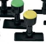 175/1770/Машинки и поставки за печати-Трупчета дръжки акрилни блокчета-Дръжка за печат размер 34 на 60 мм