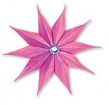 177/1788/ Щанци за изрязване на хартия-Коледни звезди-Sizzix Bigz Die - Star, 10 Point 3-D by Carrie Viger